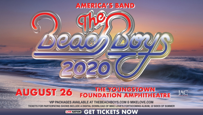 Get your tickets for the Beach Boys now!